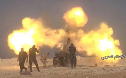 Pháo binh Syria dội hỏa lực cực mạnh 2 căn cứ của phiến quân ở Quneitra