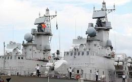 """Hải quân Việt Nam tiếp nhận thêm hai chiến hạm tên lửa """"Tia chớp"""""""