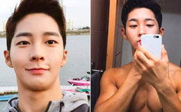 """Chàng trai Hàn Quốc sở hữu mặt """"học sinh"""" nhưng body """"phụ huynh"""" cực thu hút"""