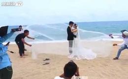 Hậu trường của những bức ảnh cưới ấn tượng