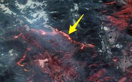 Mỹ: Toàn cảnh vụ cháy rừng khủng khiếp tại California qua những bức ảnh vệ tinh