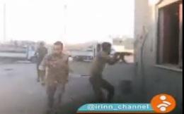 Video chiến sự Syria: Nhóm PV truyền hình Iran rơi vào lưới lửa súng máy IS