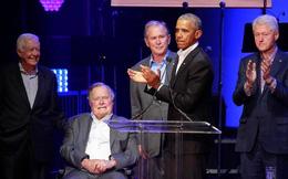5 cựu Tổng thống Hoa Kỳ xuất hiện cùng lúc để gây quỹ giúp đỡ người dân