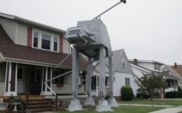 Mỹ: Anh chàng chuẩn bị quá kỹ lưỡng cho Halloween, dựng nên hẳn một robot AT-AT giống y như trong Star Wars
