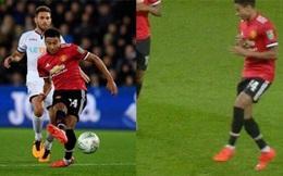 Jesse Lingard ghi bàn xong lại chọc giận fan Man Utd bằng trò hề
