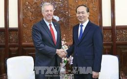 Chủ tịch nước Trần Đại Quang tiếp Đại sứ Hoa Kỳ chào kết thúc nhiệm kỳ