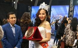 Clip: Khánh Ngân chia sẻ cảm xúc sau khi đăng Hoa hậu Hoàn cầu 2017