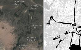 Bí ẩn những 'hàng rào đá' ngàn năm tuổi ở vùng sa mạc Saudi Arabia được phát hiện qua Google Earth