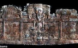 """Hé lộ bí mật về """"vua rắn"""" bên trong ngôi mộ cổ dưới chân kim tự tháp Maya"""