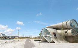 Lấy cảm hứng từ thảm họa thiên nhiên, vị kiến trúc sư này đã tạo ra những ngôi nhà ven biển có thiết kế vô cùng độc đáo