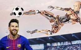 Robot sẽ đá bóng hay hơn Messi vào năm 2045