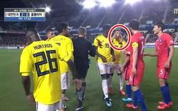Chế nhạo đôi mắt người Hàn, sao Colombia sẽ bị phạt nặng