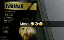"""Rò rỉ ảnh Lionel Messi đoạt """"Quả bóng Vàng 2017""""!"""