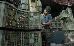Thật khó tin nhưng phần lớn bối cảnh trong Blade Runner 2049 đều được làm thủ công