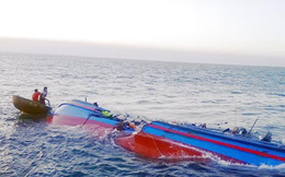 Đắm tàu ở đảo Cô Tô, 4 thuyền viên gặp nạn