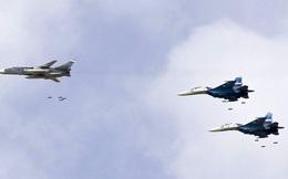 Nga dồn dập không kích hủy diệt IS trên chiến trường Deir Ezzor