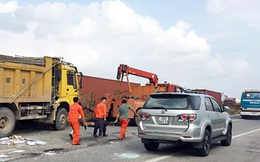 Nạn nhân kể lại giây phút kinh hoàng vụ tai nạn xe khách ở Sóc Sơn