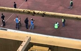 Sân Mỹ Đình nhếch nhác ở trận ra mắt Park Hang Seo