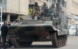 Đoàn xe bọc thép Type 89 của Trung Quốc có mặt trong bất ổn Zimbabwe