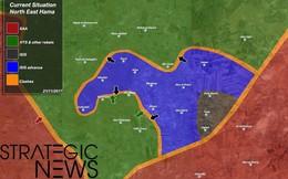 Chiến sự Syria: IS bất ngờ tung đòn chiếm hàng chục địa bàn ở Hama