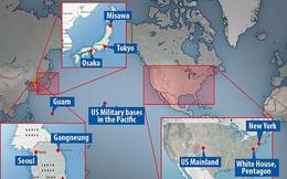 Dự báo 15 mục tiêu tên lửa Triều Tiên nhắm đến