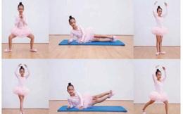 4 bài thể dục giúp bé cao và khỏe