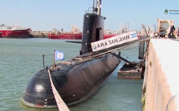 Tàu ngầm Argentina mất tích: 2 thủy thủ đã rời tàu trước chuyến đi