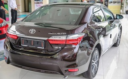 Toyota giảm giá lần cuối trong năm 2017, tới 40 triệu đồng