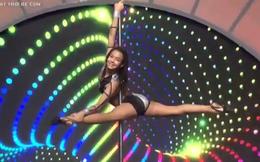 Cô bé 10 tuổi múa cột điêu luyện khiến Lại Văn Sâm thích thú