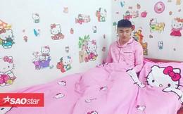 Chàng trai tên Hồng, yêu màu hồng và Hello Kitty nhanh chóng trở thành tâm điểm MXH
