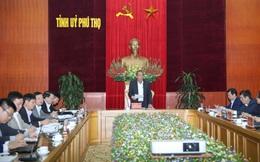 Công bố kế hoạch kiểm tra công tác phòng, chống tham nhũng tại tỉnh Phú Thọ