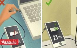 Nếu không muốn 'đem vứt' smartphone sớm, đừng mắc 5 sai lầm ngớ ngẩn này