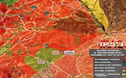 """""""Hổ Syria"""" càn quét IS, phiến quân phản đòn đánh bom liều chết ở Deir Ezzor"""