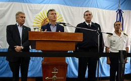 Thêm hé lộ về tàu ngầm Argentina mất tích