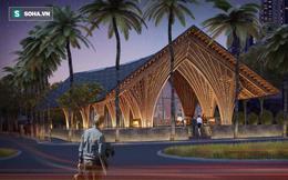 Nhà hàng tre của kiến trúc sư Việt đang xây dở đã lên tạp chí danh tiếng