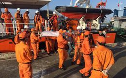 Đau lòng nhận xác 4 ngư dân bị chìm tàu
