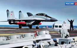 """MiG-29K/KUB trang bị """"sát thủ"""" diệt hạm Kh-31: Tàu sân bay 8 quả, tàu khu trục chỉ 2 quả"""