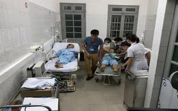 Chém nhau tại Trung tâm y tế huyện, 3 cán bộ bị thương