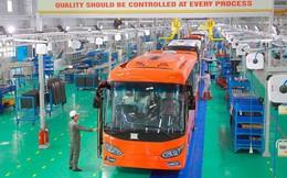 Khai trương nhà máy, Trường Hải liền tay ký xuất khẩu xe bus thương hiệu Việt