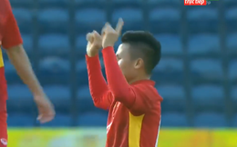 """Quang Hải liên tiếp ghi siêu phẩm, sớm """"nhấn chìm"""" U23 Myanmar"""