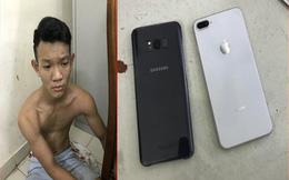 Thanh niên xài iphone 8 khai cướp giật vì ... hết tiền