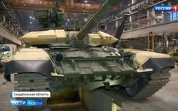 Thỏa ước mong: Xe tăng T-90S Nga sản xuất cho khách hàng nước ngoài đã lắp giáp đời mới