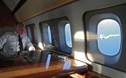 24h qua ảnh: TT Putin ngồi trên máy bay dát vàng ngắm chiến đấu cơ trên bầu trời Syria