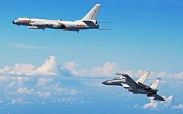 """Vừa tung lời đe dọa, dàn chiến đấu cơ Trung Quốc đã """"áp sát"""" Đài Loan"""