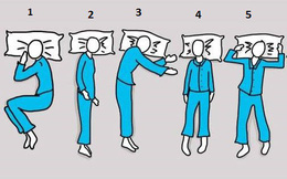 """6 tư thế ngủ """"bật mí"""" tính cách và cảnh báo sức khỏe: Bạn là kiểu số mấy?"""
