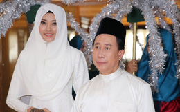 Kim Nhung thực hiện nghi lễ đám cưới với đầu bếp nổi tiếng Martin Yan