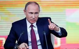 Các sắc thái biểu cảm của ông Putin trong cuộc họp báo thường niên