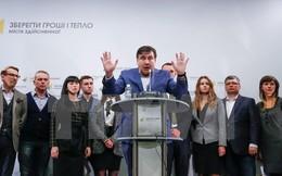 Ukraine không tiến hành bất cứ cuộc đàm phán nào về ông Saakashvili
