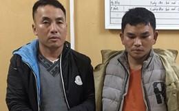 Hai kẻ vận chuyển ma túy lao xe máy vào lực lượng Công an, hòng thoát thân