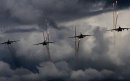 Không quân Nga giội lửa phiến quân Syria trên chiến trường Idlib